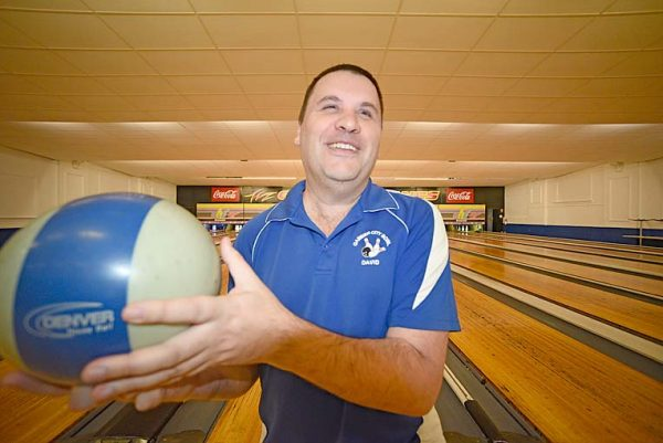 ON TARGET: David Wyborn - who operates Gambier City Bowl - has thrown his support behind the embattled Mount Gambier Community Returned and Services League.