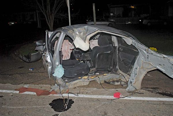 Crash Tears Car In Two Tbw News Group