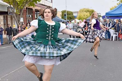 Ardlair Highland Dancers  TBW Newsgroup
