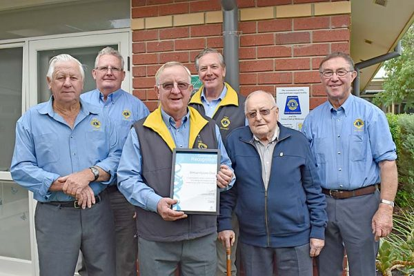 Lions Club At Sheoak  TBW Newsgroup