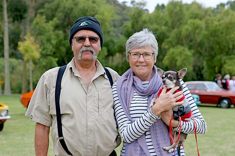 Mark Edwards, Sally Barrett, Dog Bella Cramer  TBW Newsgroup