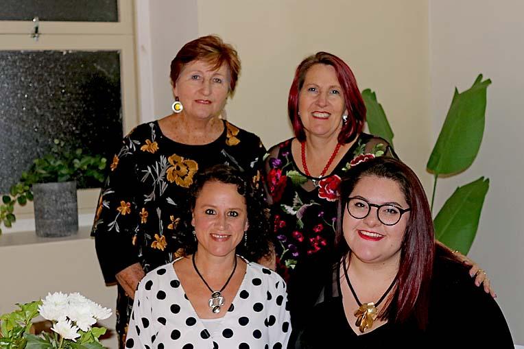Michele Van Niekerk, Kristy Burch, B Bewlah Burch And Sue Van Der Veen  TBW Newsgroup