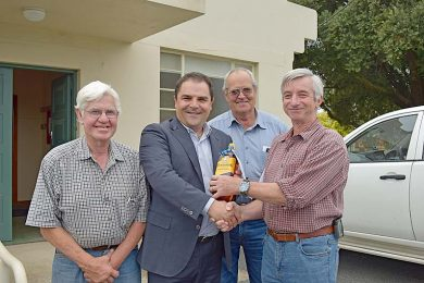 Member For Barker Tony Pasin Bruce Clayson Bob Evans And Chris Mathias  TBW Newsgroup