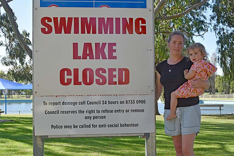 Swimming Lake Closed  TBW Newsgroup