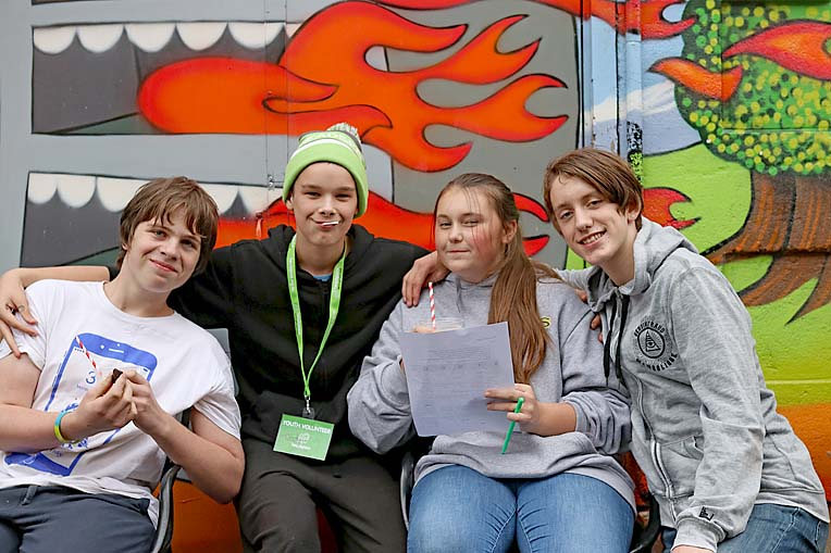 Liam Macleod, Cody Pearsall, Emerald Ladner And Zeek Quartermaine  TBW Newsgroup