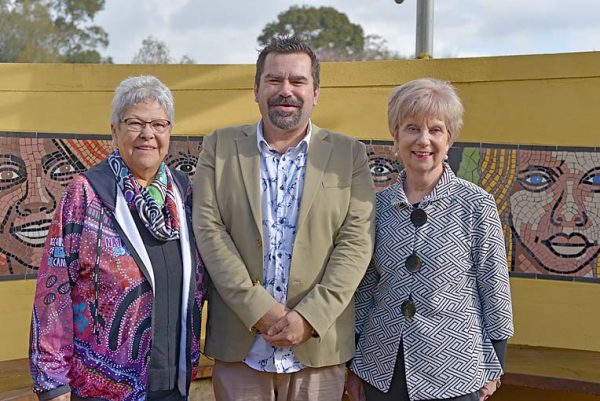 Aunty Val, Andrew And Mayor Martin  TBW Newsgroup