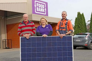 Foodbank Solar Panels (1)  TBW Newsgroup