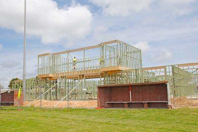 Mclaughlin Park Under Construction  TBW Newsgroup