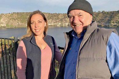 Sarah Smith And Ken Jones At The Blue Lakeweb TBW Newsgroup