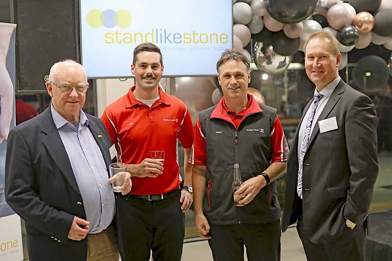 Peter Charlton, Tim Scarth, Adam Salmon And David Chant  TBW Newsgroup
