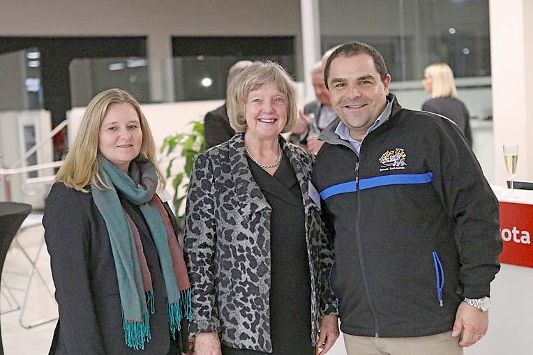 Sally Klose, Erika Vickery And Tony Pasin  TBW Newsgroup