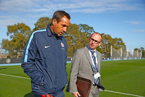 Melbourne City Fc Training Session TBW Newsgroup