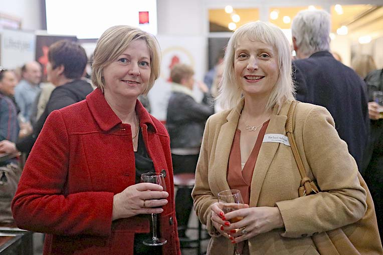 Jane Fetherstonhaugh And Rachael Ashman  TBW Newsgroup