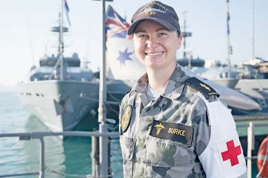Darwin Sailor Saves Baby Girl TBW Newsgroup