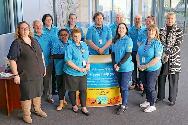 Hospital Volunteers New Uniform TBW Newsgroup