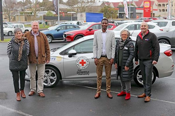 Red Cross Donated Car TBW Newsgroup