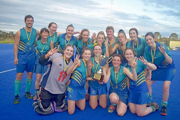 Division 1 Women Premiers 2019 West Hockey Club TBW Newsgroup