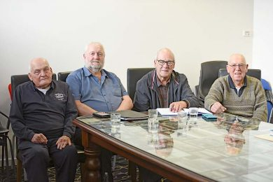 Mel And Lloyd Tilley, Wayne Manser And Bill Watts  TBW Newsgroup