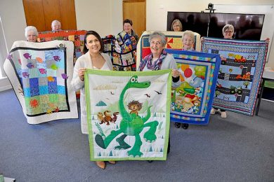 Pine Tree Quilters Donation 2  TBW Newsgroup
