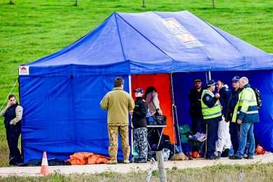Investigators Tent  TBW Newsgroup
