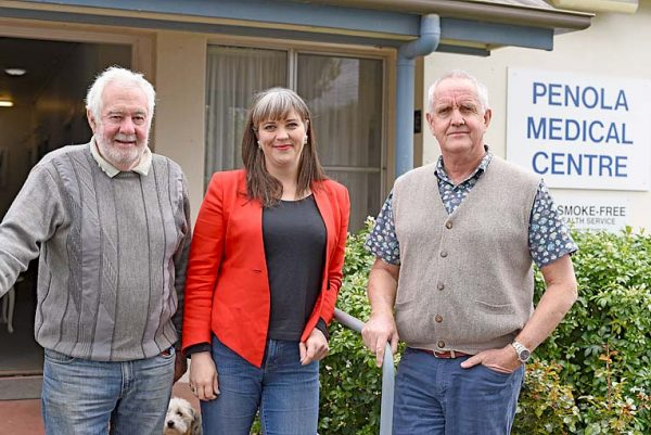 Bill Murray, Sophie Angus And Dr Mark Dutney TBW Newsgroup