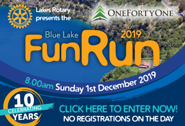 Blue Lake Fun Run 2019 Mrec TBW Newsgroup