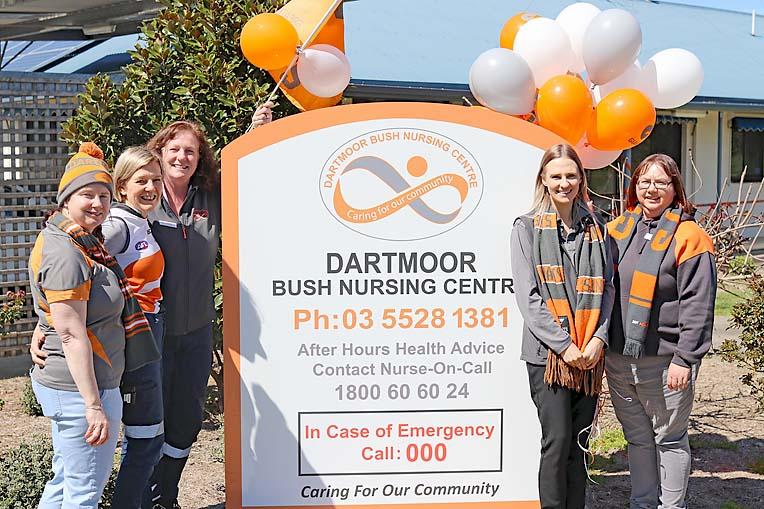 Dartmoor Bush Nurisng Centre Staff  TBW Newsgroup