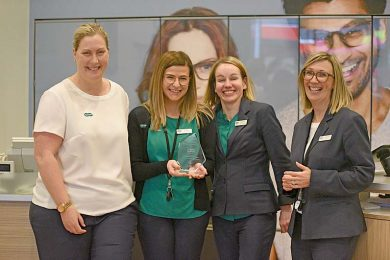 Erica Johnston, Clare Chaplin, Melissa Smith And Kathryn Benjamin  TBW Newsgroup