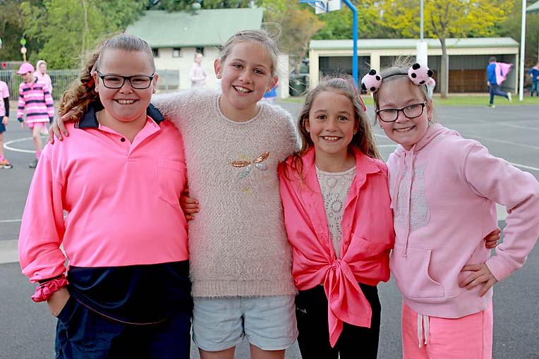 Haylee, Tilly, Ella, Alissa  TBW Newsgroup