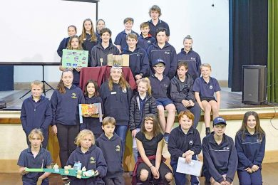 Kalangadoo, Nangwarry And Phs Students  TBW Newsgroup