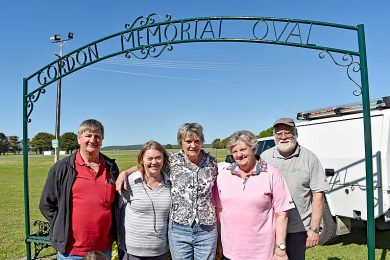 Quentin Pietsch Along With Millicent Show Society Committee Members Susie Hutchesson Bev Copping Lynne Stupple And Michael Tessier  TBW Newsgroup
