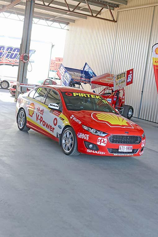 Shell Racing Car (11)  TBW Newsgroup