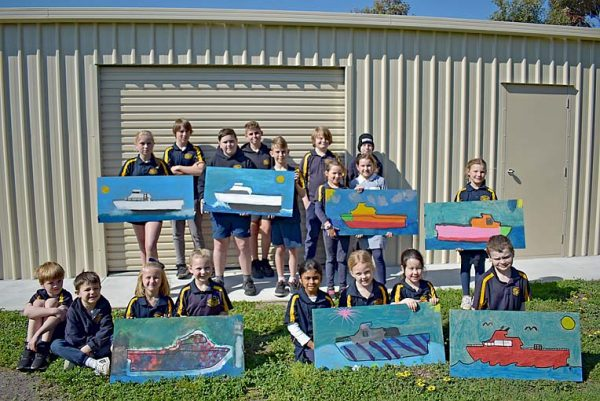 Beachport Primary Bof Art (1)  TBW Newsgroup