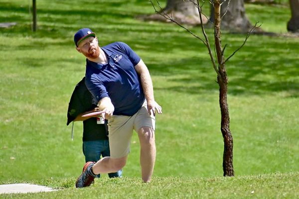 Australian Disc Golf Champion 2019 Patrick Robinson TBW Newsgroup