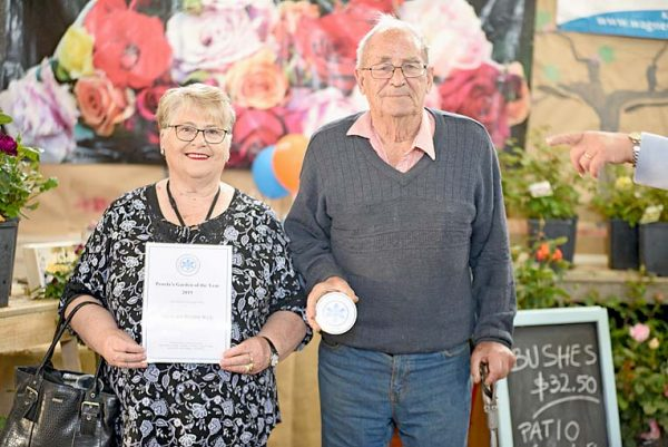 Janeen And Preston Wyly Garden Winners TBW Newsgroup