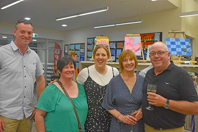 Mark Monaghan, Sandra Haygarth, Rochelle Monaghan, Liz And Mark Beames  TBW Newsgroup