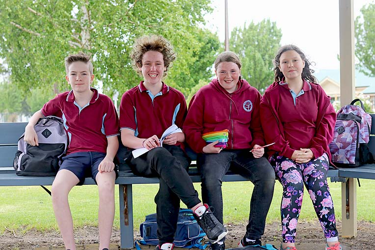 Melaluca Year 7 Transition Cohen, Kurtis, Brianna And Lucy  TBW Newsgroup