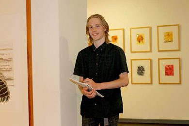Riddoch Art Gallery Award Winner Sean  TBW Newsgroup