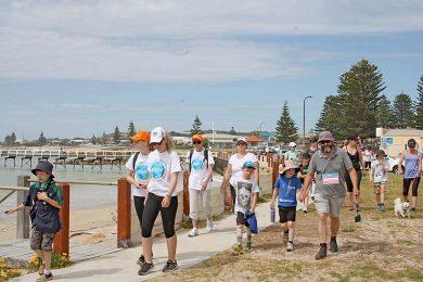 Beachport Walk 2016  TBW Newsgroup