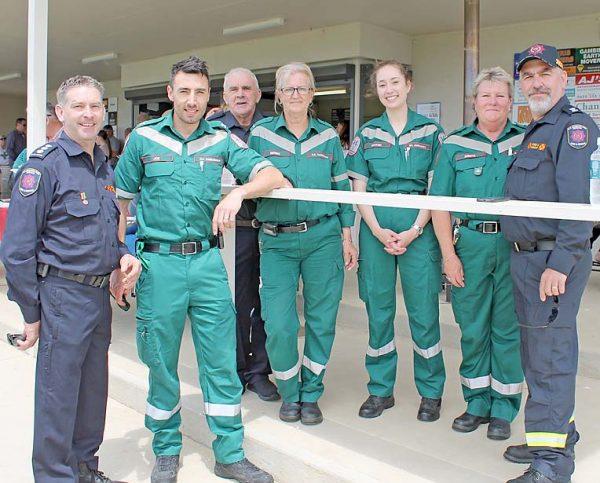 Emergency Services Personnel Grant Fensom, Joe Renko, Hayden Gower, Denise Gower, Mayah Jud Sneath, Sheryl Teigesser, Mike Teigesser   TBW Newsgroup