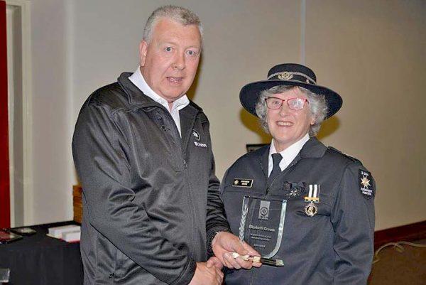 St John Ceo Ray Creen And Retiring Limestone Coast Member Elizabeth Groo...web TBW Newsgroup