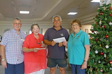 Terry Walters, Colleen Connell, Vince Versace And Lorraine Musgrove  TBW Newsgroup