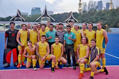 Australian U21 Hockey Team  TBW Newsgroup