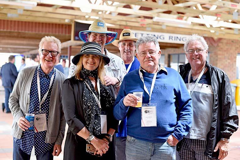 Bryan Fraser, Dorothy Borg, David Skelton (f) Robert Mcfadyen, David Riout And Ian Baker (b)  TBW Newsgroup