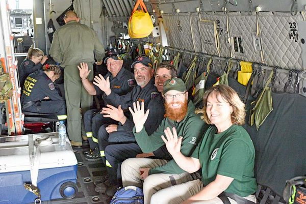 Firefighters Strapped In TBW Newsgroup