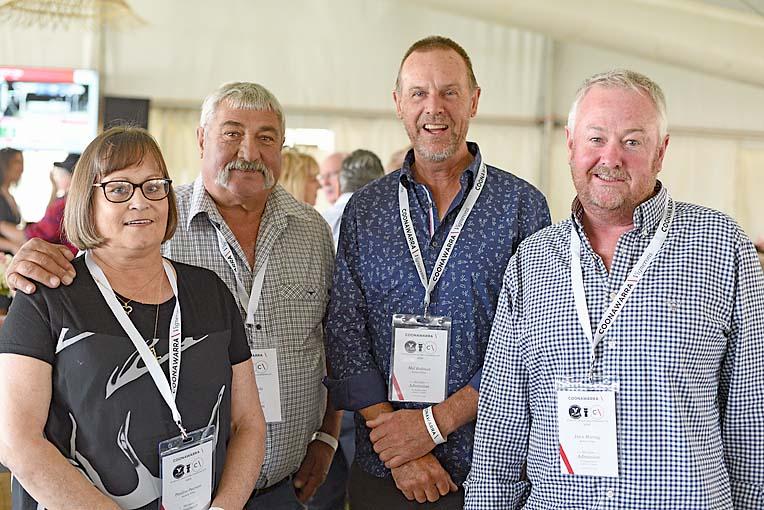 Pauline Douglas, John Lauia, Mal Redman, Dave Murray  TBW Newsgroup