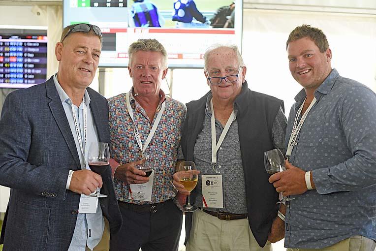 Peter Sutherland, Geoff Haynes, John Donnelly, Lachie Mckenzie  TBW Newsgroup