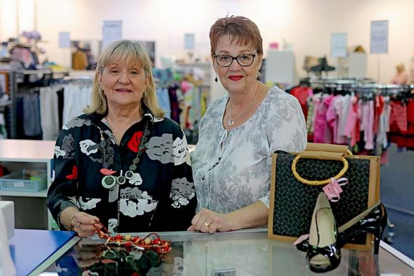 Renee Everlyn And Agnes De Vos Lifeline Storefront TBW Newsgroup