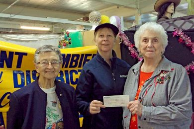Rotary Community Market Cheque Presentation  TBW Newsgroup