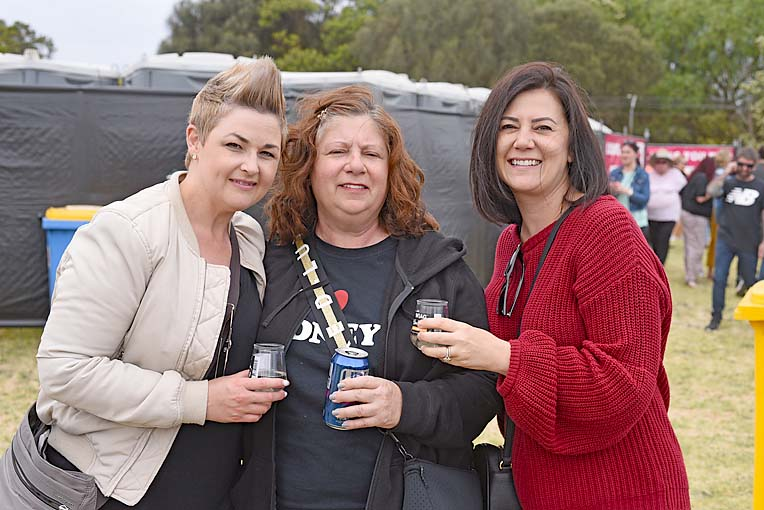 Stacey Blackwell, Raye Champagne And Nicole May Champagne  TBW Newsgroup